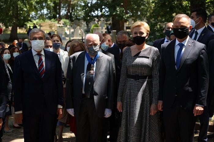 Polonya Cumhurbaşkanı'ndan Polonezköy ziyareti