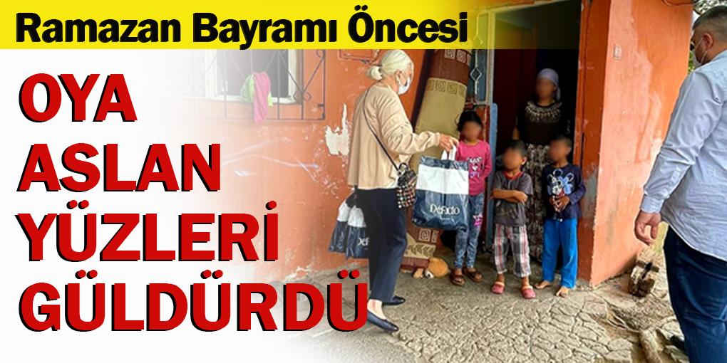 Beykoz'da yetim ve öksüz çocuklar unutulmadı!