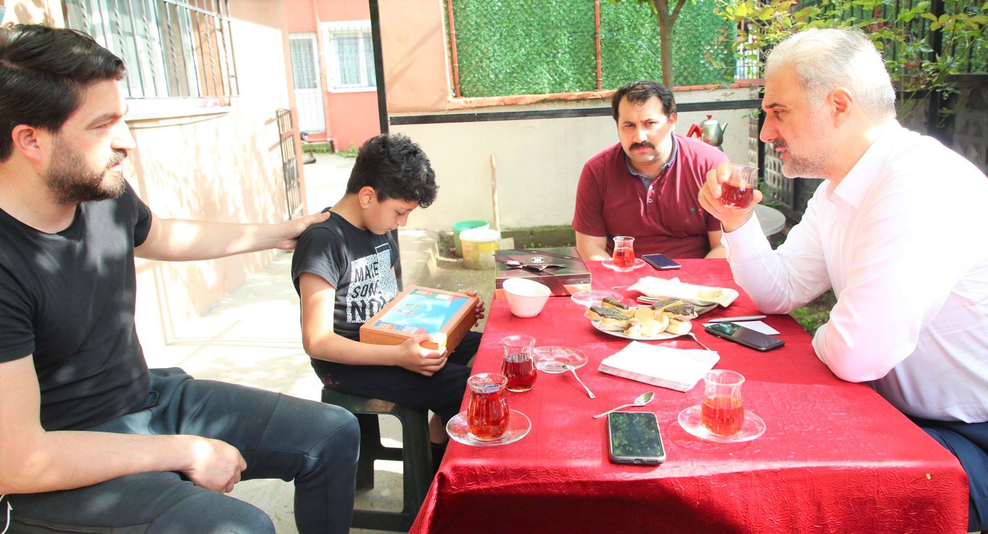 AK Parti İstanbul İl Başkanı Kabaktepe Beykoz'a geldi