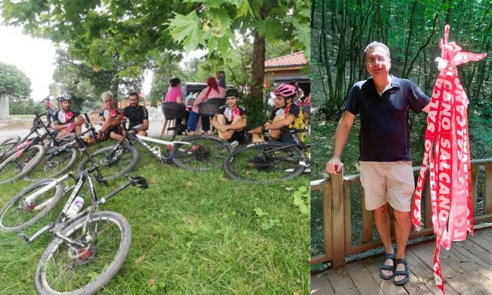 Beykoz'da bisikletçiler kayboldu