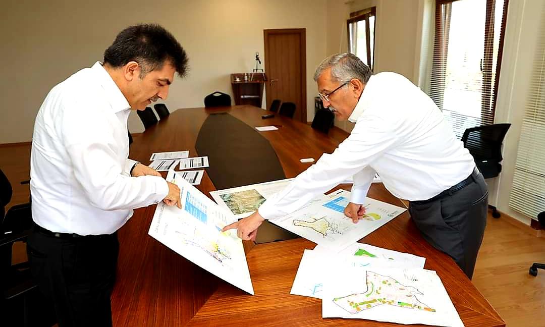 Başkan Murat Aydın: 2022 yılında kazma vurmayı planlıyoruz!