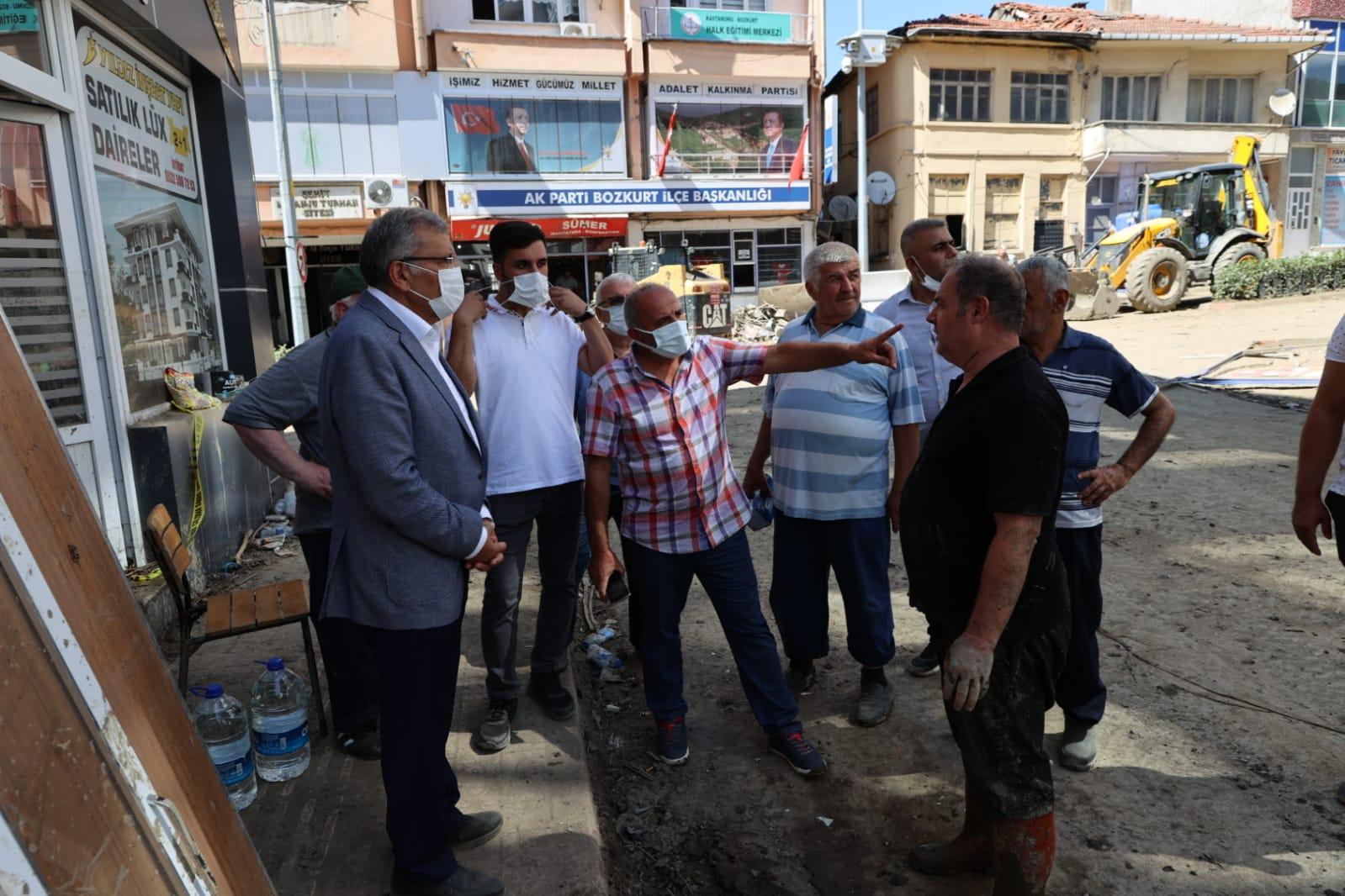 Beykoz Belediyesi Kastamonu Bozkurt'a üs kurdu