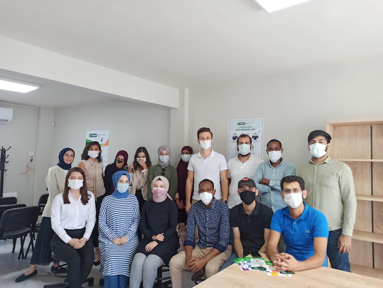 Beykoz Yeşilay'a uluslararası ziyaret
