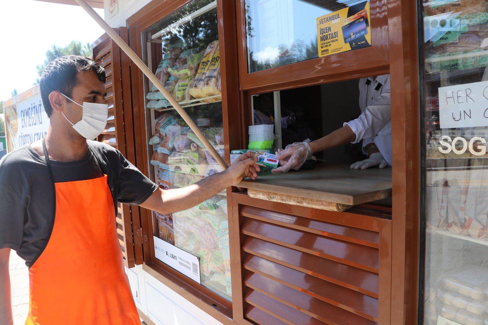 Beykoz'da ücretsiz ekmek almanın bir yolu var!