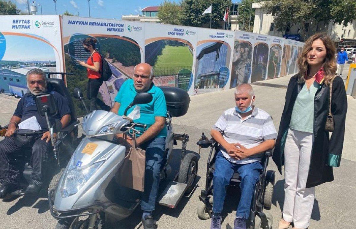 Beykoz'da engellilere darp davası sürüyor