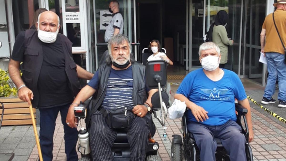 Beykoz'da engellileri döven sanığa tahliye